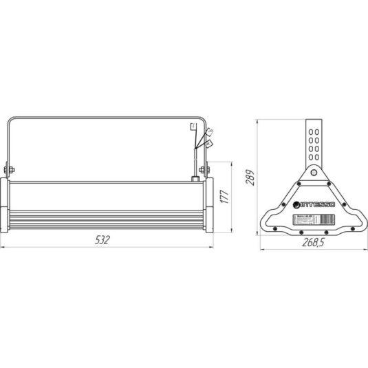 Промышленный светодиодный светильник Matrix-I