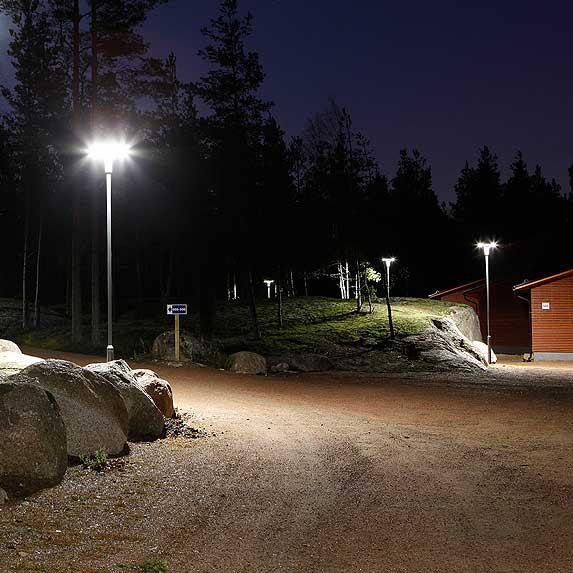 Парковые светодиодные светильники