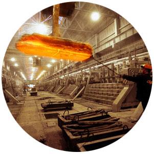 мощный промышленный светодиодный светильник в пластиковом корпусе