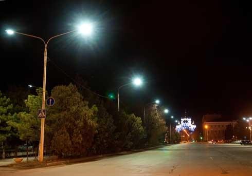 Улицы Новочеркасска освещают энергосберегающими светильниками INTESSO™!